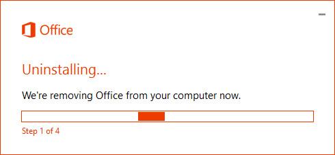 Meghapus Microsoft Office 2016