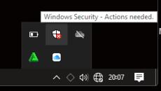 Ikon Windows Defender