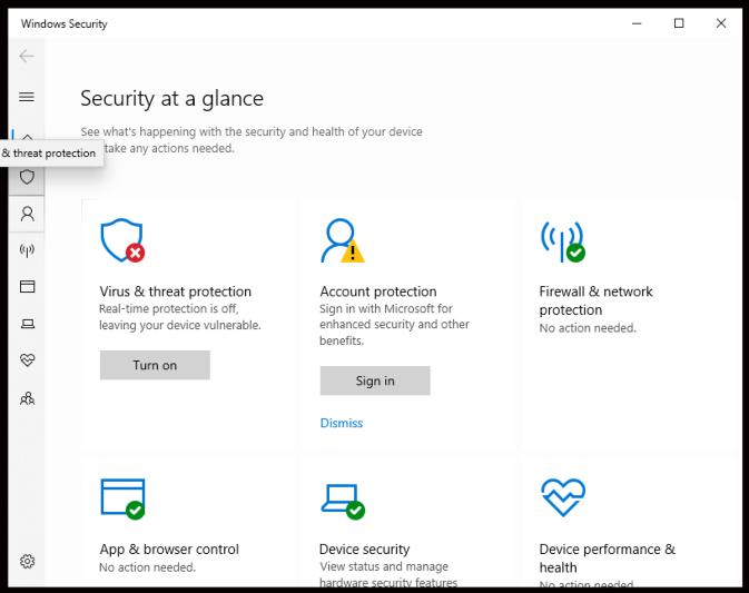 Cara Mudah Mematikan Windows Defender