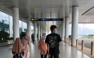 Pintu Keberangkatan Bandara Syamsudin Noor (BDJ) Banjarbaru