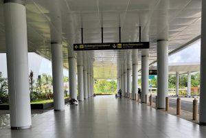 Pintu Kedatangan Internasional Bandara Syamsudin Noor (BDJ) Banjarbaru