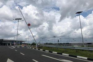Parkiran Motor Bandara Syamsudin Noor (BDJ) Banjarbaru